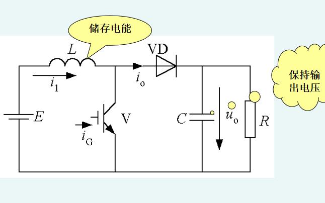Boost型变换器的结构及原理等资料说明