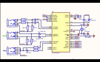 TMS320F28335 DSP处理器的电路原理图