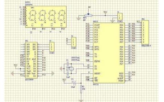 一个数字电压表的设计程序资料免费下载