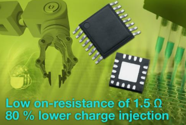 Vishay推出高性能CMOS模拟开关 导通电阻只有1.5?