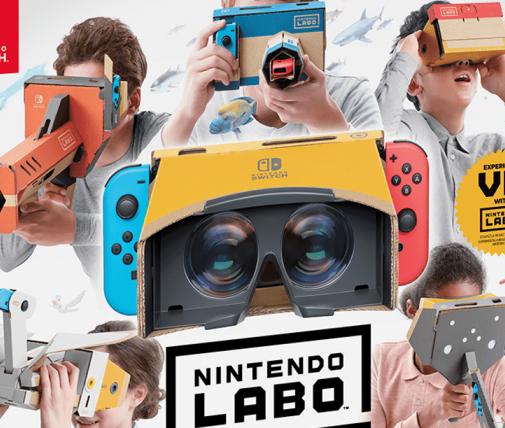 任天堂Labo的第四个VR套装将于4月中旬发布