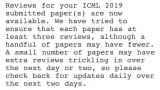 ICML 2019评审结果来了!可谓是几家欢喜几家愁