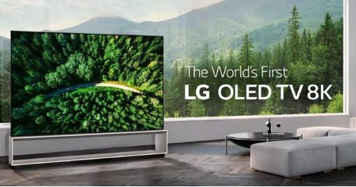 LG携旗下首款8K OLED电视惊艳亮相2019...