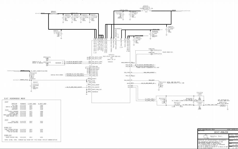 iPhone6 plus原廠電路原理圖資料合集免費下載