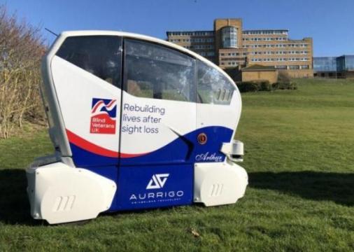 Aurrigo测试无人驾驶微型车 残疾人也能开车了