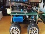 最新款智能车基于重力传感器的手势遥控车