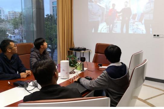 华为助力惠州电信测试5G CPE的下行流量最高达...