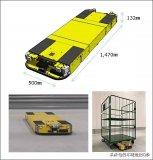 日本松下电器发售了用于台车移动的自动运输机器人