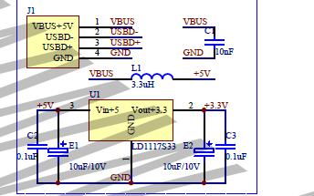 小型逻辑Altera USB爆炸机CY7C68013芯片的电路原理图免费下载