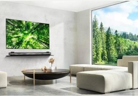 LG将在AWE2019发布第一台8K OLED电视和2.57mm厚度超薄壁纸电视