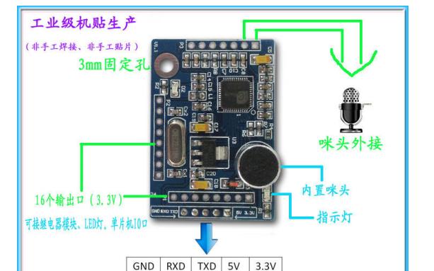 YS-LDV7语音识别模块使用手册免费下载