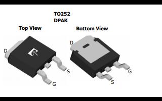 AOD407 P通道增强型场效应晶体管的数据手册免费下载