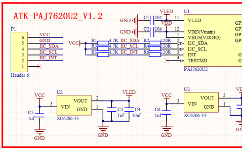 ATK-PAJ7620手势识别模块的用户手册免费下载