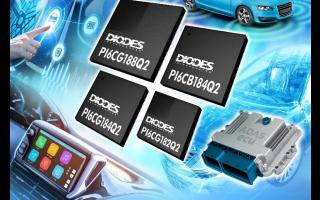 Diodes 符合汽车规格第2级的PCIe4.0频率装置为智能型与?#32422;?#36710;设计带来低功耗