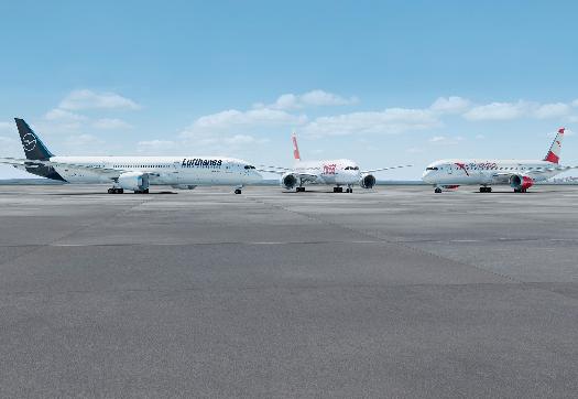 罗尔斯-罗伊斯将为汉莎集团提供20架波音787和20架空客A350XWB飞机