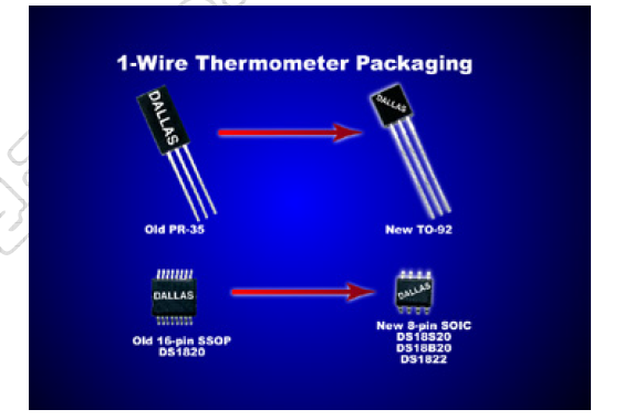 DS18B20单线数字温度传感器的中文资料免费下载