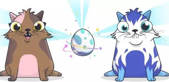 谜恋猫敲开了区块链游戏的大门