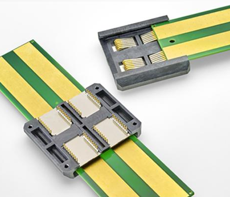 TE推出滑轨电源连接器 简单的设计降低了电源断开...
