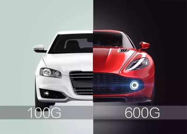 高速600G光网就是超级跑车