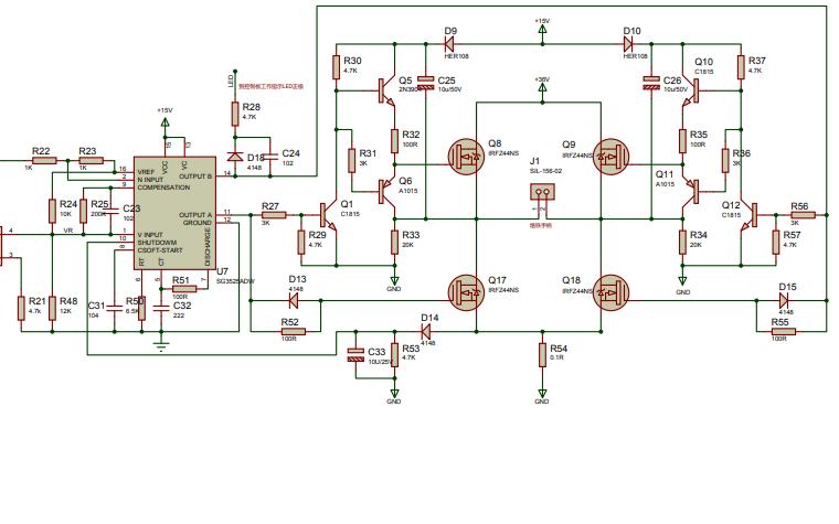 高频电烙铁电路原理图免费下载