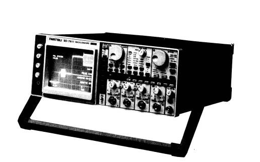 SS-76XX系列示波器的维修手册免费下载