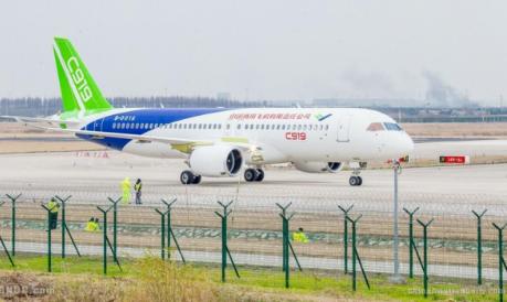 C919大型客机订单数已超过850架将力争在2021年上市