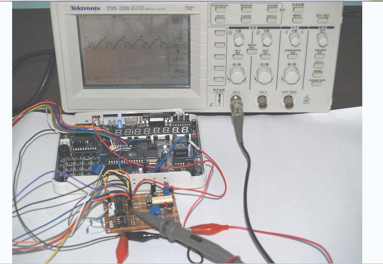 DAC0832数模转换程序的详细资料合集免费下载