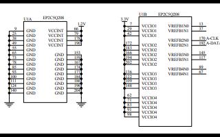 9288示波器的电路原理图免费下载