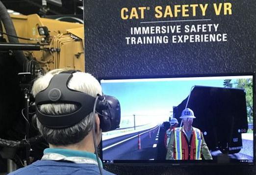 VR技術正在應用于工業培訓