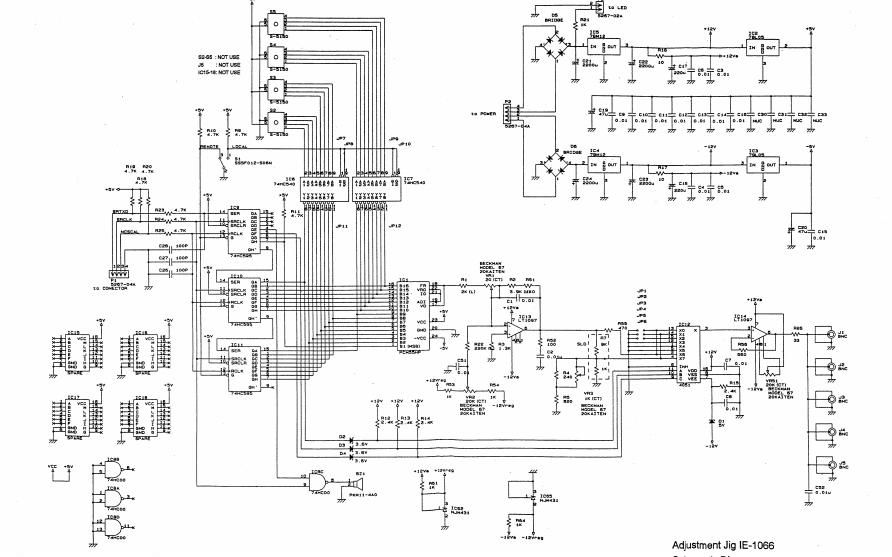 SS-7810和SS-7805及SS-7804示波器维修手册免费下载