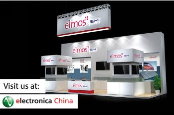 elmos多款最新产品和解决方案将亮相electronica China 2019