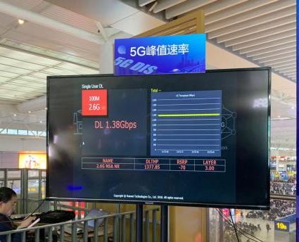 上海虹桥火车站将成为首个开通5G室内数字系统建设...