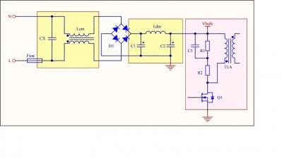 小功率电源EMI解决方案
