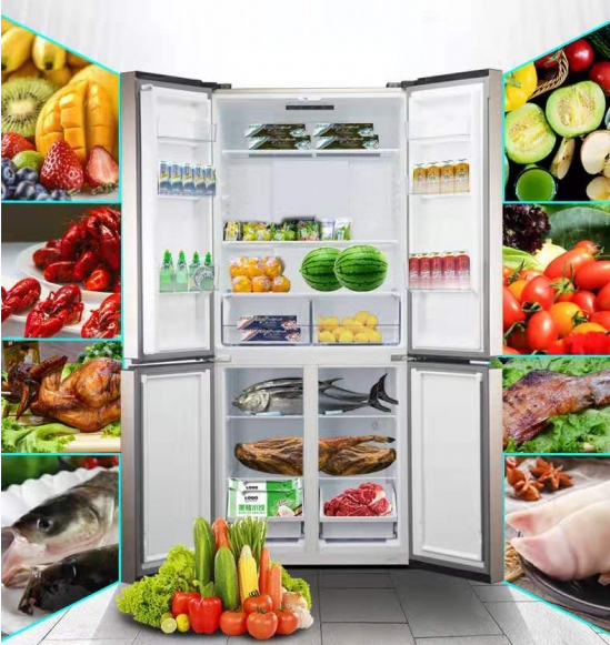 格兰仕上架一款4门十字对开门风冷冰箱 堪称风冷冰箱性价比之王