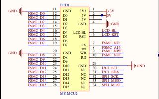 STM32F407VET6核心板的电路原理图免费下载