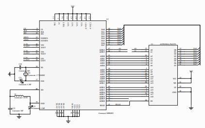 STM32和MB90092B开发板应用电路原理图免费下载