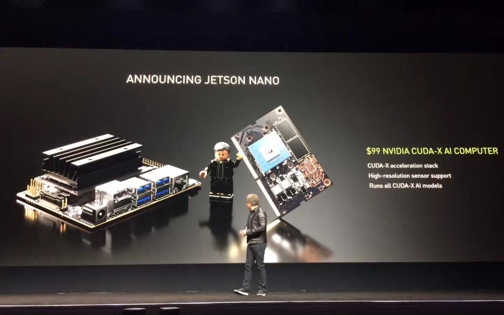 英伟达发布?#24230;?#24335;电脑Jetson Nano:功耗仅5W