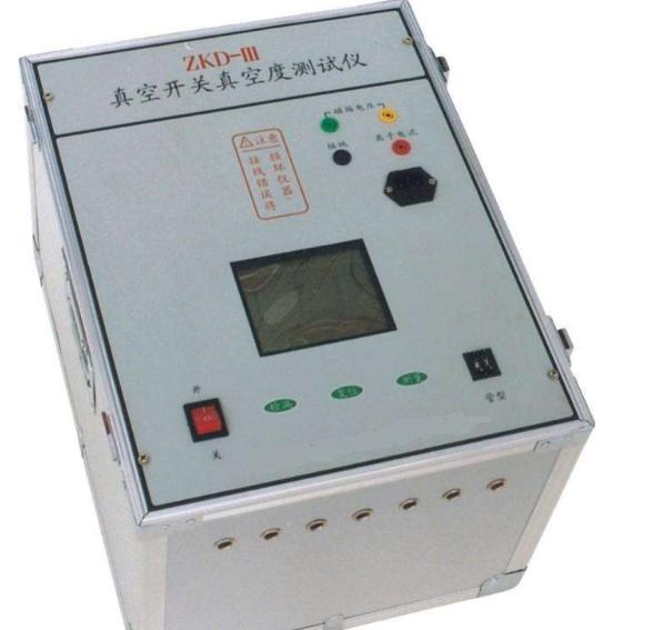 开关真空度测试仪的测试原理及使用方法