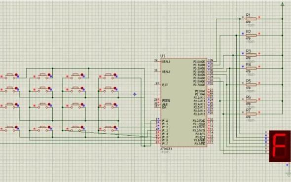 使用嵌入式Linux设计的矩阵键盘程序和资料说明