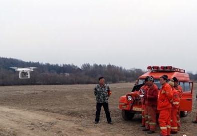黑龙江森工林区启动多架小型无人机进行防火安全