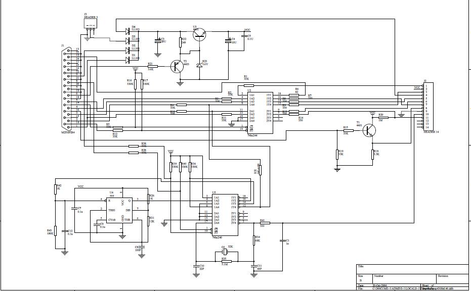 MSP430单片机全系列仿真器JTAG接口电路图免费下载