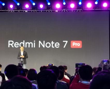 红米Note 7 Pro正式发布搭载骁龙675芯片支持硬件直出4800万照片
