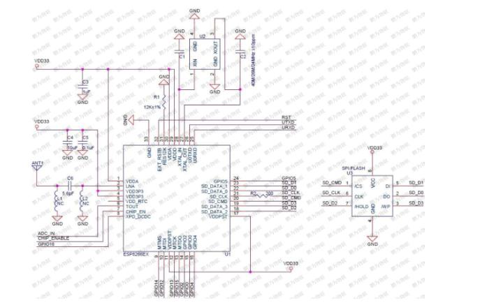 ESP8266的Non-OS AT指令使用示例的详细资料说明