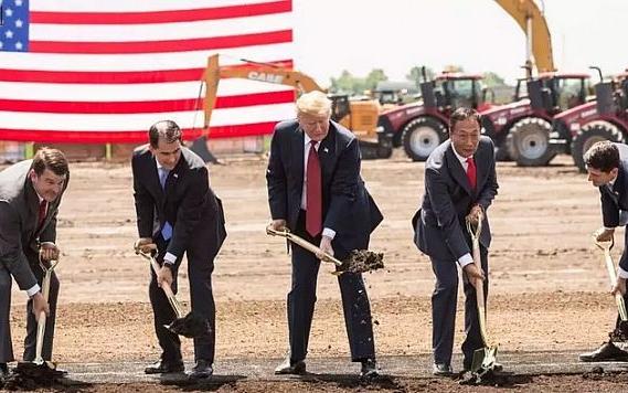 富士康宣布斥资100亿美元的威斯康星工厂将于明年...