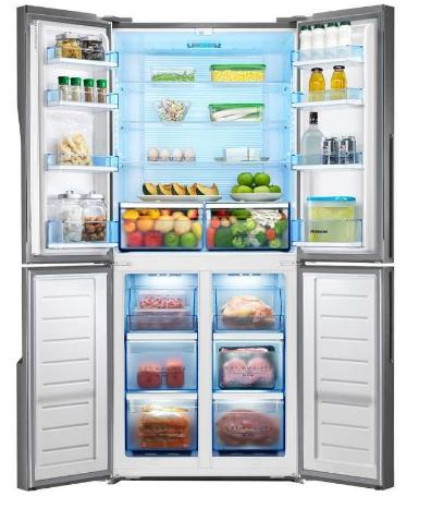 格兰仕500L十字门风冷冰箱大大降低了使用成本 打造国民冰箱的新标杆