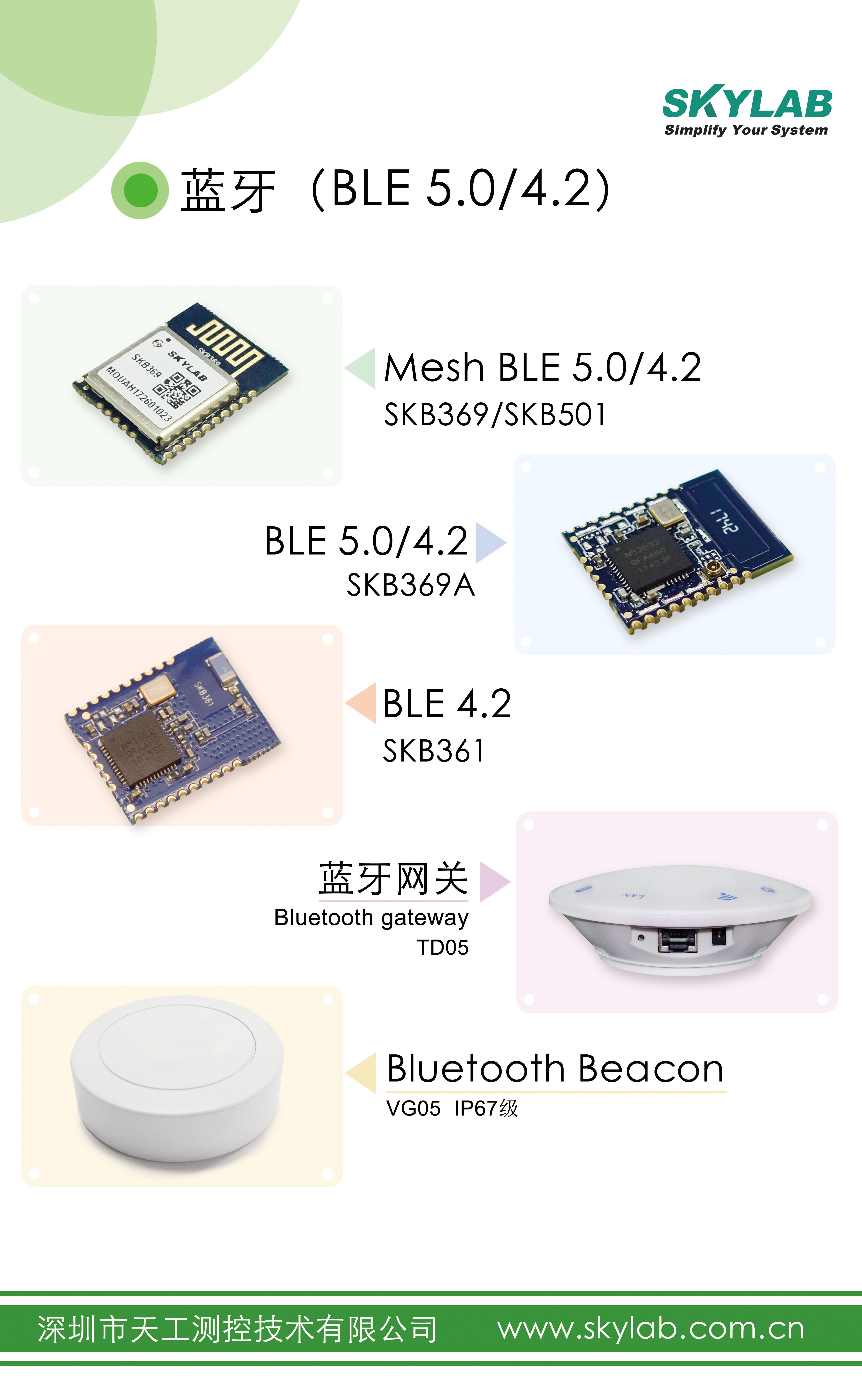 BLE蓝牙模块在物联网领域的典型应用
