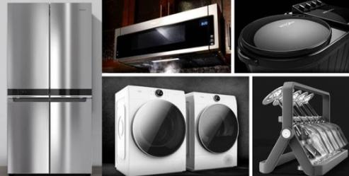 惠而浦推出帝王系列滚筒洗衣机干衣机套装 为用户带来智能洗涤新体验