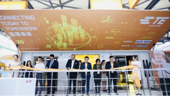 唯样作为合作伙伴出席TE Connectivity移动客户体验中心中国行启动仪式并致辞