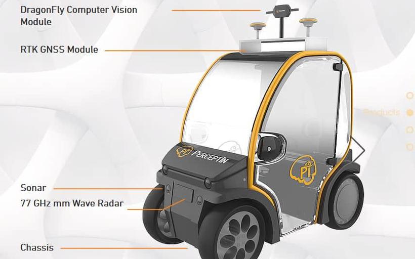 5G通信技术将应用于自动驾驶微型车上