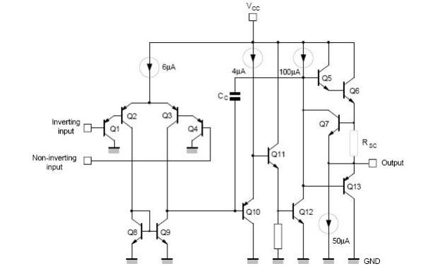 lm358运放组成的振荡电路原理_集成运放电路组成框图